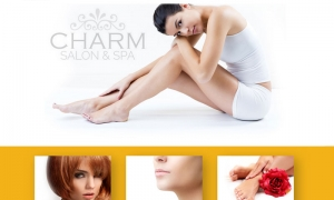 web – Charm Salon